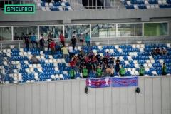 Dinamo - Gori-Auswärtsblock
