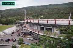 Lokomotivi - MM-Stadion1 von oben