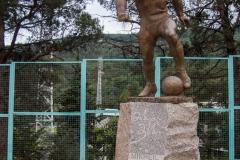 Lokomotivi - MM-Statue
